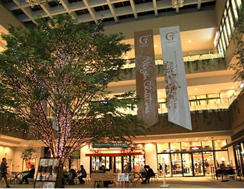 Takamatsu's central shopping district